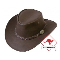 Leather Hat  Kangaroo Softy