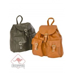 Scippis Backpack, Leather