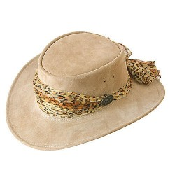 Australian leather women's hat