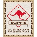 Scippis Kangaroo Sundowner leren hoed