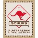 Scippis Kangaroo Sundowner leather hat