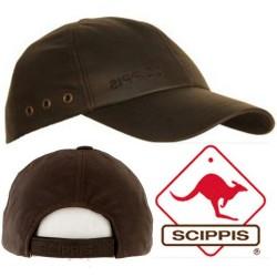 Läder Cap Scippis