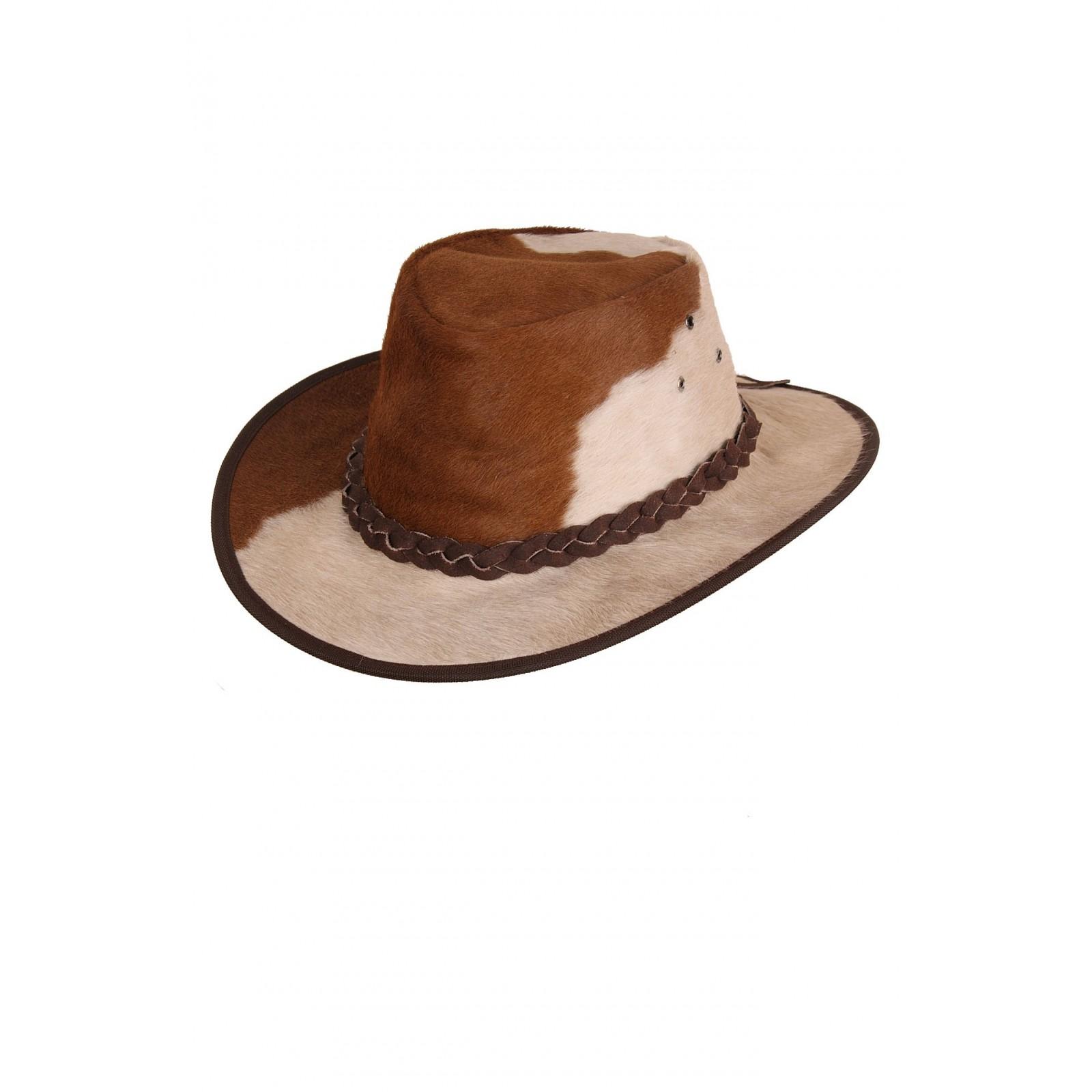 Australische lederen hoed