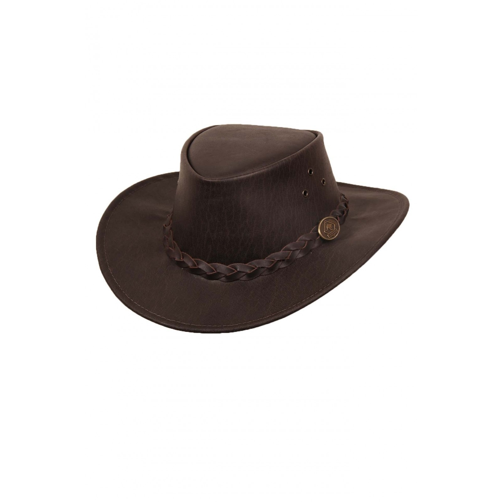 Leather hat Buffalo