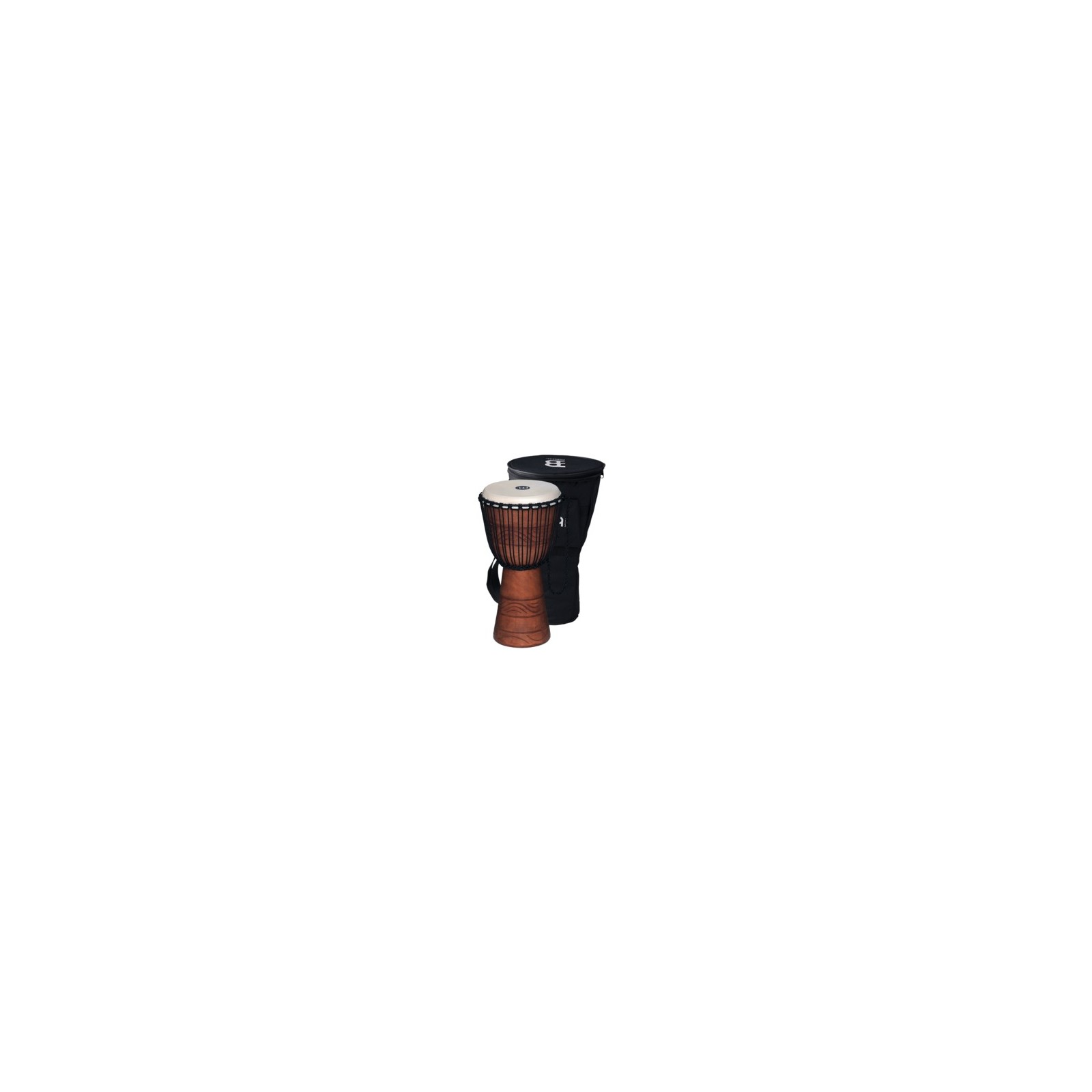 African Wood Djembe Rope Tuned  Mahogany Wood.