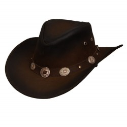 Leather hat Tombstone