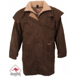 Mountain Riding Coat Oilskin