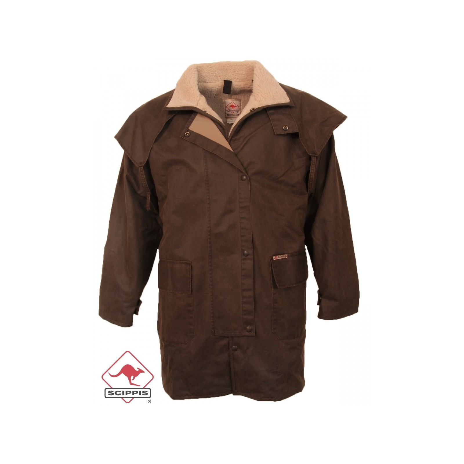 Scippis Mountain Riding Jacket Oilskin