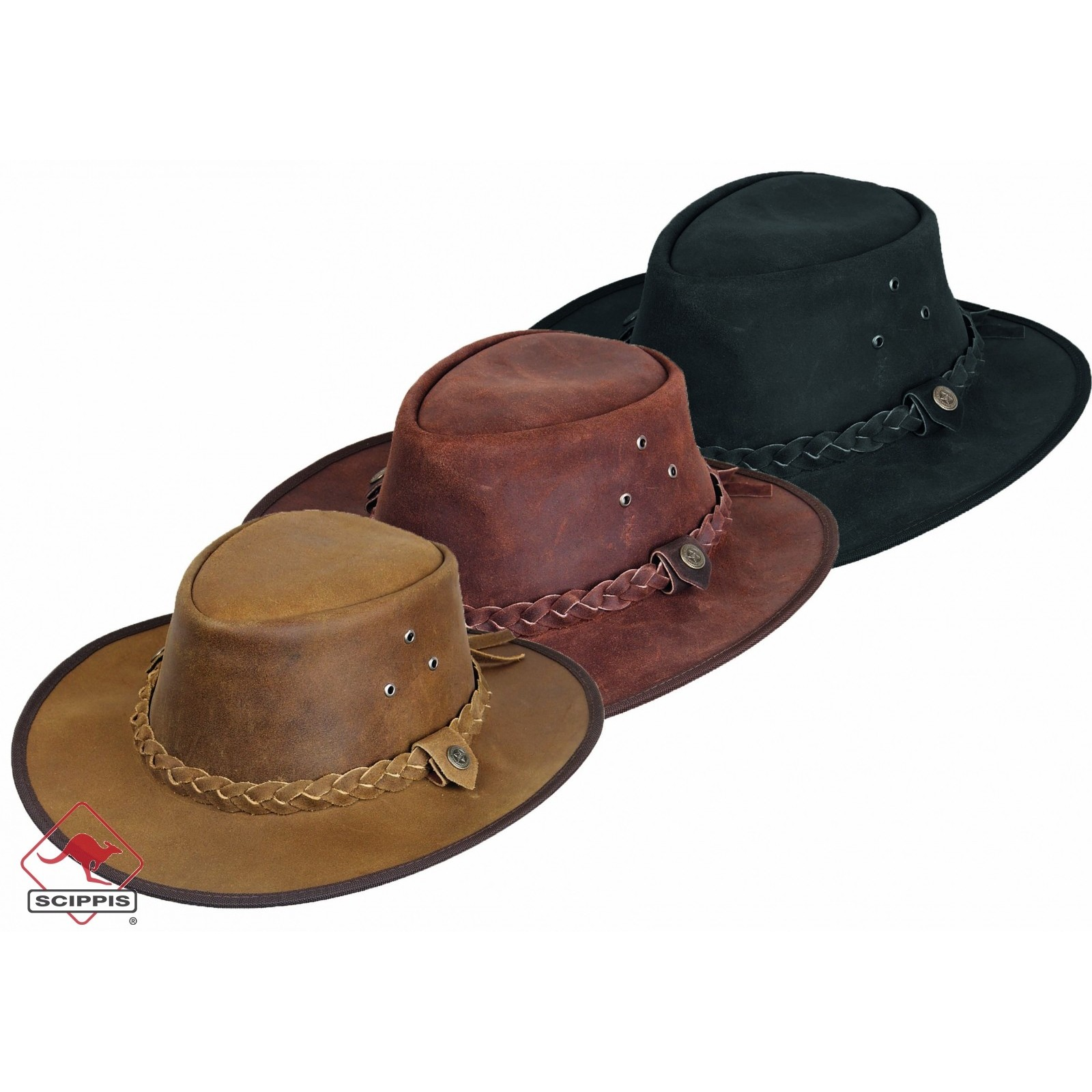 Leather hat Hooley