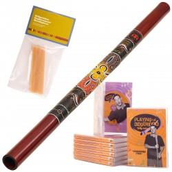Starter Pack A Didgeridoo DDG1-R + DvD + Wax