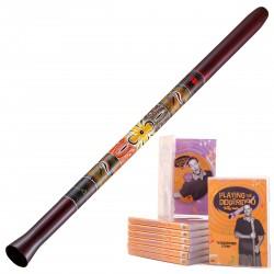 Meinl Didgeridoo SDDG1-R + Lehrne DVD