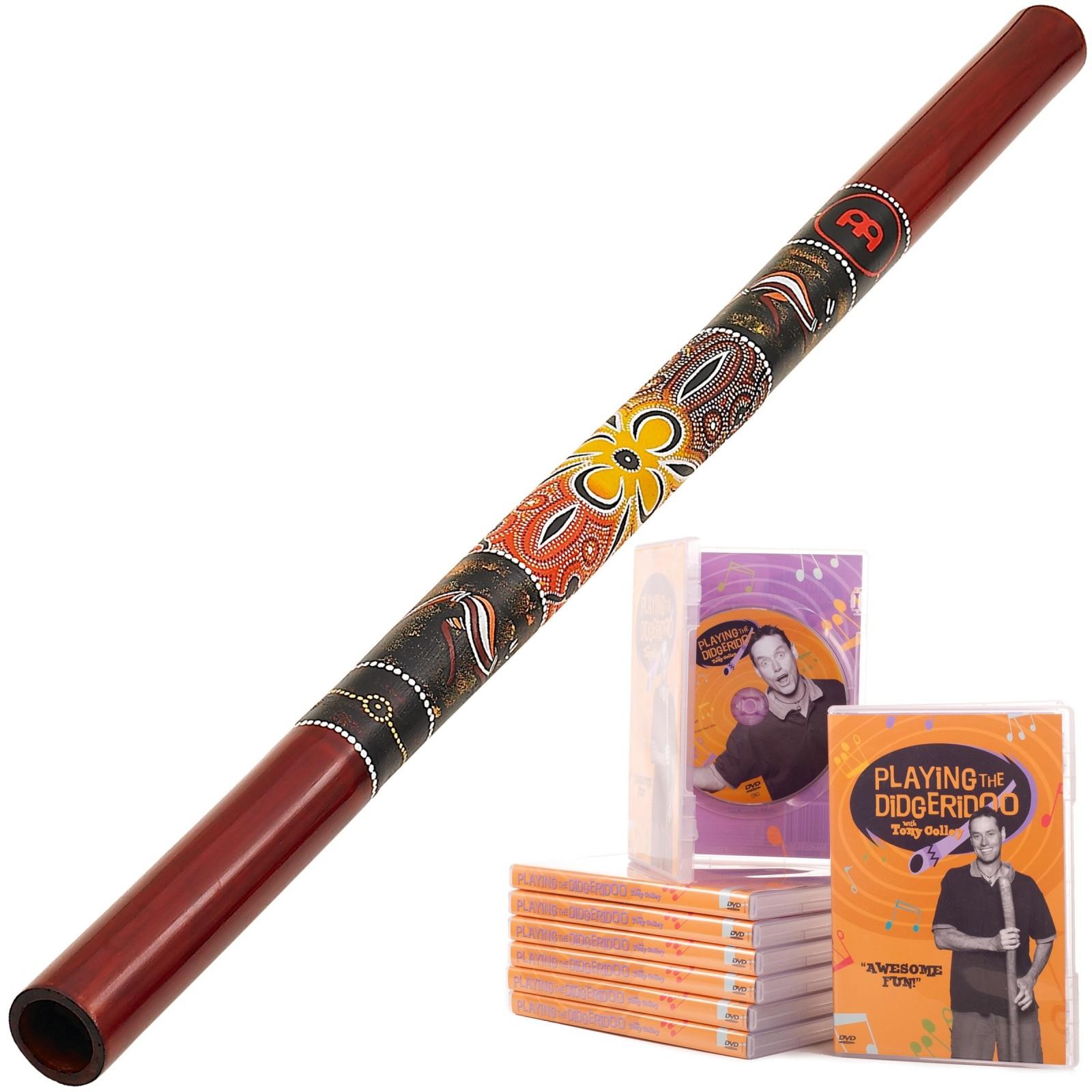 Meinl Starterspakket A  Didgeridoo DDG1-R + DvD