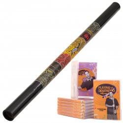 Meinl Starter Pack un Didgeridoo DDG1-BK + DvD