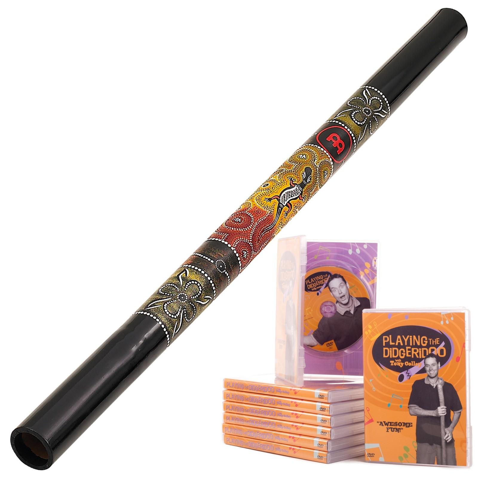 StartPaket A Didgeridu DDG1-BK + DVD