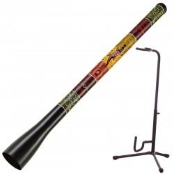 Meinl Slide Didge  TSDDG1-BK + Didgeridoo Standaard
