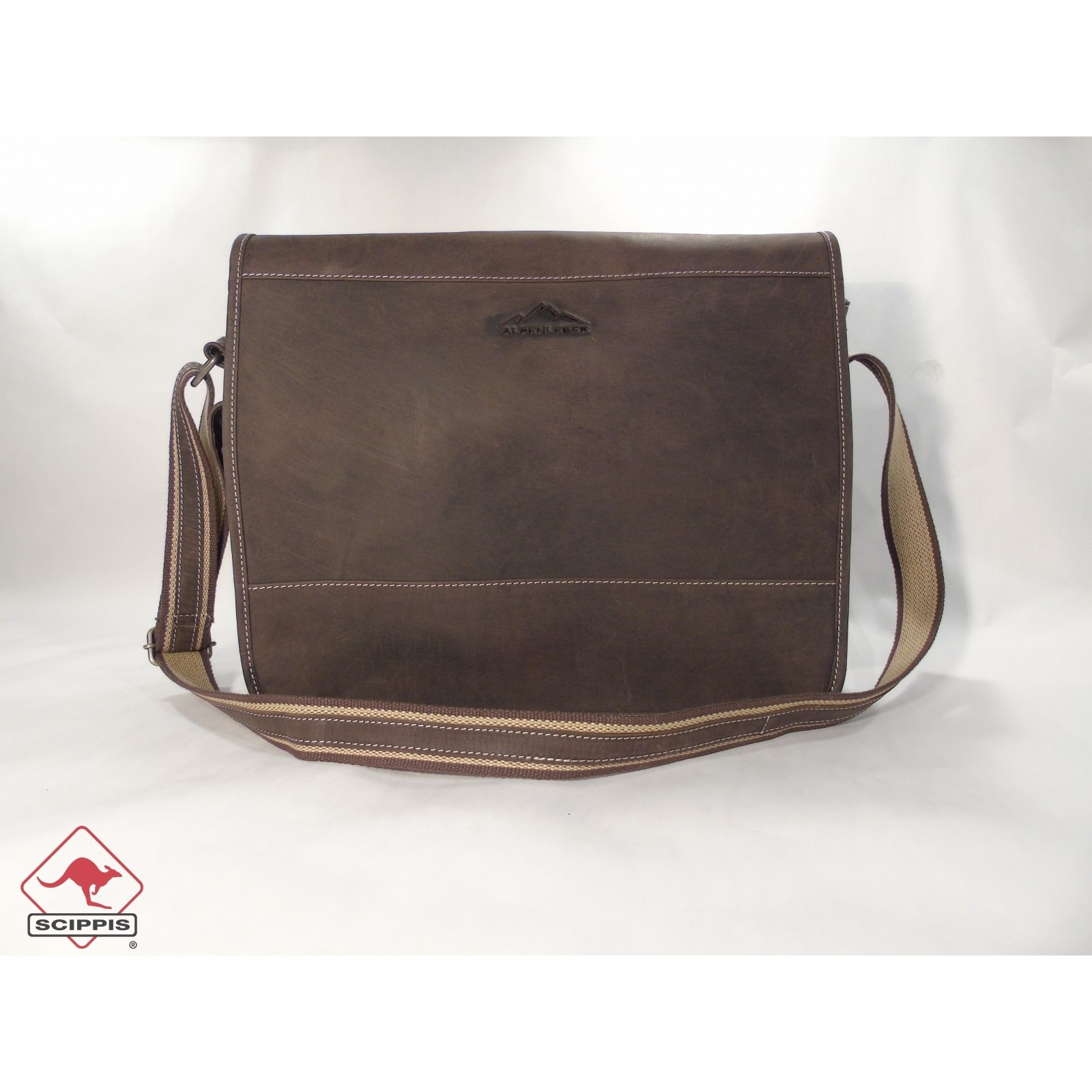Scippis Boston Messenger Bag