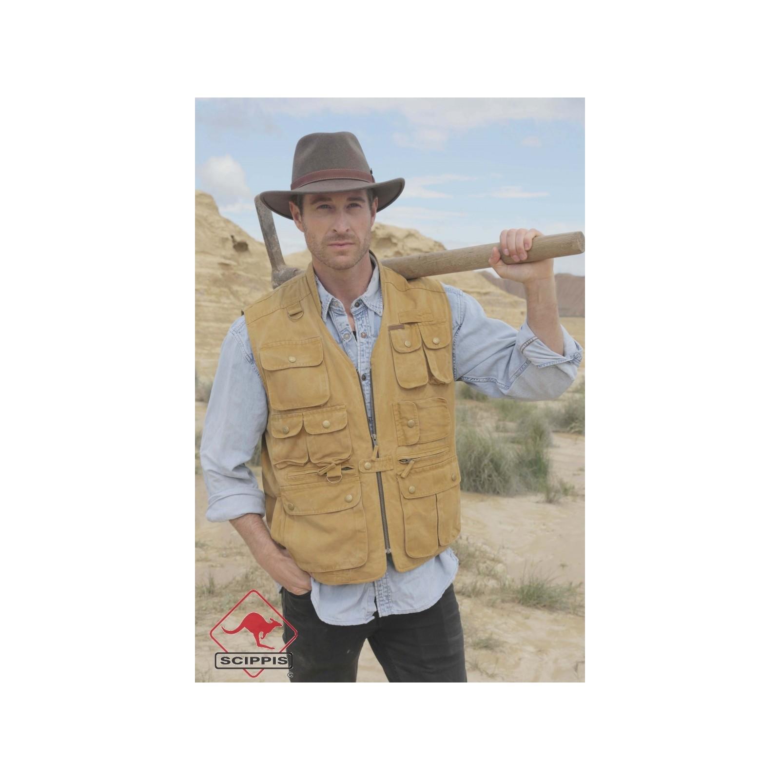 Murray Canvas Vest