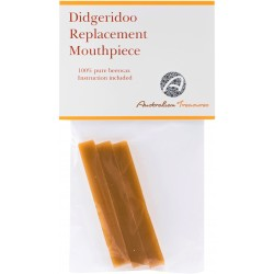 Beeswax repairkit for mouthpiece didgeridoo
