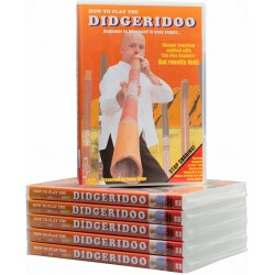 Didgeridoo-DVD - How to play a didgeridoo - didgeridoo against snoring
