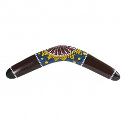 Australian Treasures boomerang 40cm (15.7'')  brown wood
