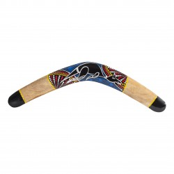 Boomerang de Australian Treasures de madera de canguro de 50 cm
