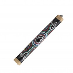 Rainstick 20cm painted