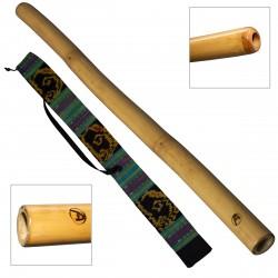 DIDGERIDOO: Bamboo PRO-series einschließlich didgeridootasche