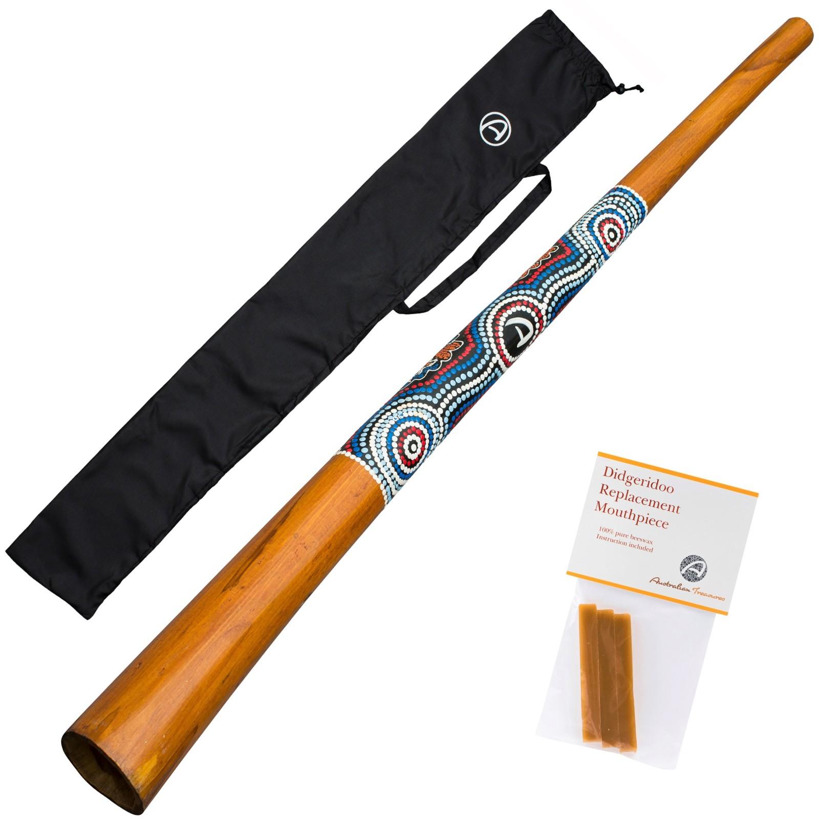 Australian Treasures Didgeridoo ''natural paint''