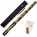 Didgeridoo 120cm - bolsa de didgeridoo - cera de abejas