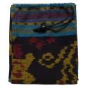 DIDGERIDOO BAG 125 cm - Didgeridoo bag made of Ikat fabric. Bell Ø 8 cm. Including carrying strap