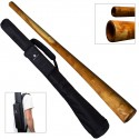 DIDGERIDOO: Mahogany PRO 147cm avec sac didgeridoo en nylon