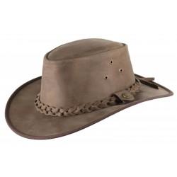 Porter leather hat