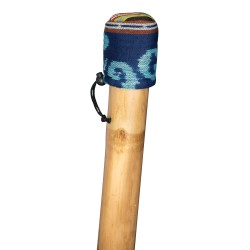 Copri bocchino Didgeridoo - regolabile - per la protezione del bocchino - foderato in cotone