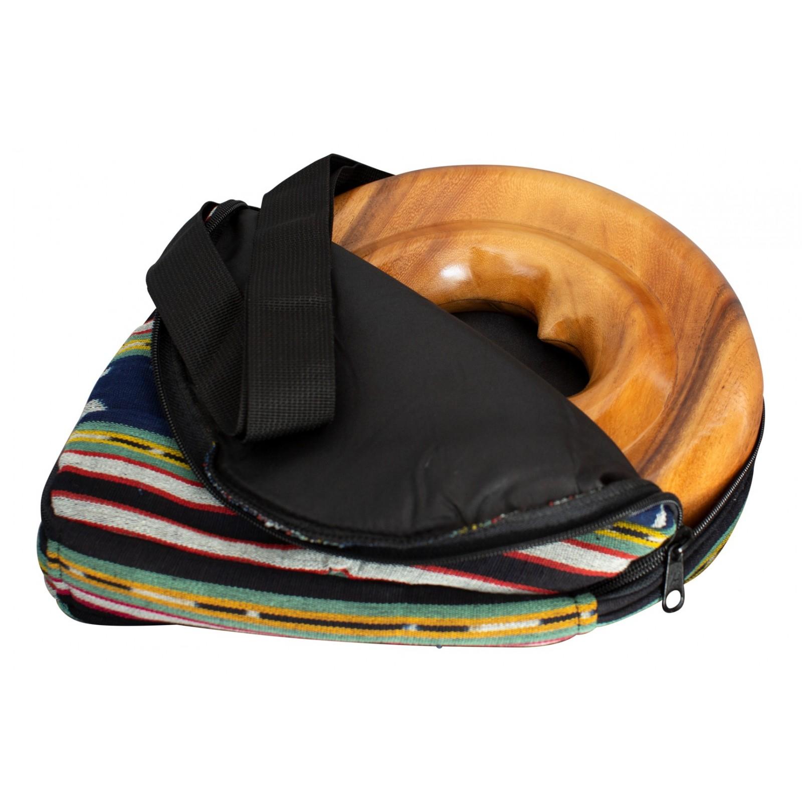 DIDGERIDOOTASCHE FÜR SPIRAL TRAVEL DIDGERIDOO - Nylon Didgeridoo Tasche für Holzspiraldidgeridoo. Verstellbarer Schultergurt