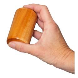 Ensemble de shaker en acajou - percussion à main - instrument de musique pour enfants - léger - 7.5cm