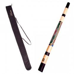 Didgeridoo en teck
